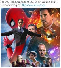 Funny Spiders Memes Of 2017 - spider man homecoming poster parodies know your meme