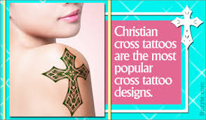 cross tattoos for women