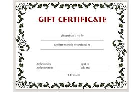 gift certificates design a gift certificate passionative co