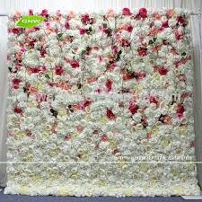 wedding backdrop flower wall gnw flw1707006 artificial flower wall colorful silk flowers