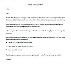 unique survey cover letter template 14 for your best cover letter