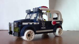 lego police jeep chinese lego police force 30s u0027 paddy wagon youtube