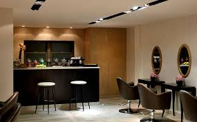 Salon Design Ideas Nail Salon Interior Decoration Ideas Gielly Green Lighting