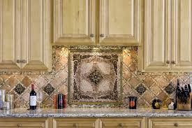 kitchen backsplash medallions kitchen kitchen style mosaic tile backsplash medallions kitchen