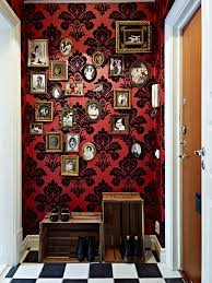 best 25 red and black wallpaper ideas on pinterest red bedroom