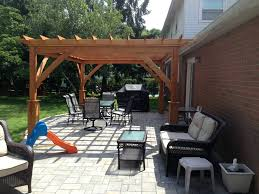 patio ideas imposing ideas patio with pergola entracing latest