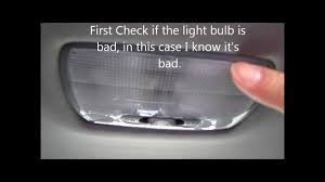 2003 honda accord interior lights how to change the dome light on acura or honda