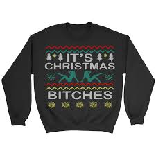 inappropriate bitches collection sweaters