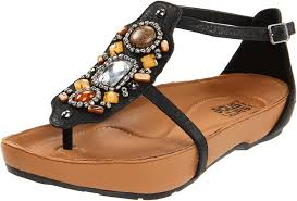amazon com kalso earth women u0027s enchant t strap sandal black