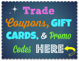 share request u0026 trade your gift cards coupons u0026 promo codes 2