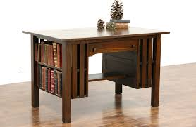 Arts And Crafts Writing Desk Sold Arts U0026 Crafts Mission Oak 1905 Antique Library Table