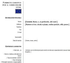 download gratis curriculum vitae europeo da compilare pdf to word curriculum europeo cos è quale uso e suggerimenti per compilarlo