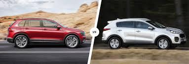 volkswagen suv 2014 volkswagen tiguan vs kia sportage comparison carwow