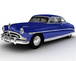 1952 hudson hornet 3d model in cars 3dexport