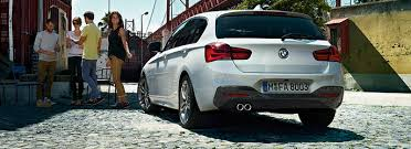 bmw one series india 2015 bmw 1 series india rear angle carblogindia