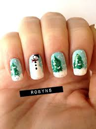 nail u2014 15 cool simple u0026 easy winter nail art designs u0026