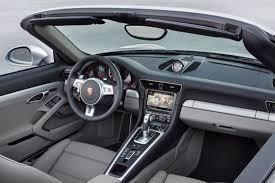 porsche 911 inside porsche 911 turbo cabriolet 2014 cartype