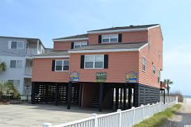 ocean front houses in cherry grove grand strand realty