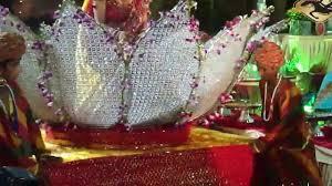 Indian Wedding Ideas Themes by Indian Wedding Bride Entry Lotus Theme Youtube