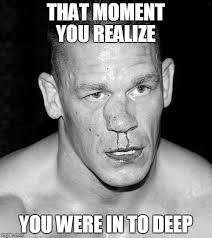 Nose Meme - john cena swollen nose memes imgflip