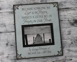 condolence gift bereavement picture frame memorial gift canvas sympathy gift