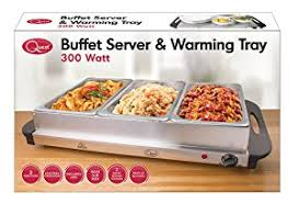 quest benross quest compact buffet server and warming tray amazon