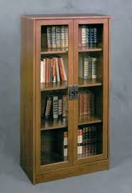 Bookcase With Glass Door Shelves With Glass Doors Bikepool Co