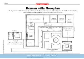 roman floor plan roman villa floor plan free primary ks2 teaching resource scholastic