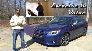 subaru legacy 2017 sport 2017 subaru legacy 2 5i sport review exercise in value youtube