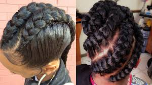 French Braids Styles For Black Hair