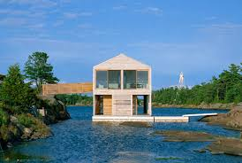 what do you need to build a house beautiful lake huron floating house by mos inhabitat green