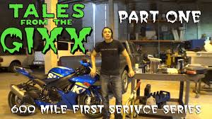 2011 2015 suzuki gsxr 600 first maintenance part one youtube