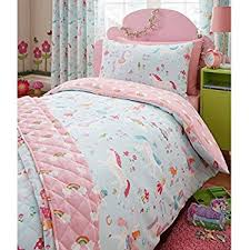Small Single Duvet Amazon Com Magical Unicorn Single Us Twin Duvet Cover And