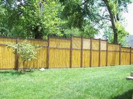 Garden Fence Ideas Design Diy Bamboo Fence Style Ideas Design Idea And Decorations Hang