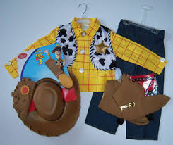 nwt disney store story sheriff woody cowboy costume set l 10