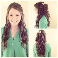 long hairstyles for graduation hair ideas for long curly hair with