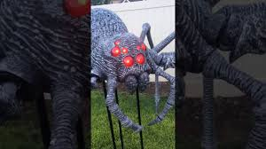 home depot 9ft halloween gargantuan spider amazing decoration prop