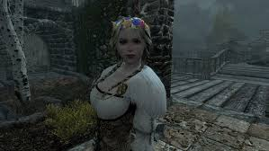 wedding dress skyrim skyrim vilja wedding dress by thephantom52 on deviantart
