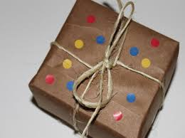 brown gift wrapping paper diy 6 ways to make your own gift wrap inhabitots