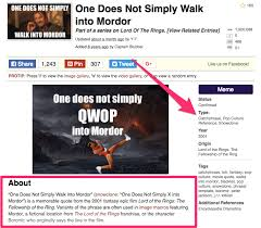 Qwop Meme - a simple yet effective strategy for generating high quality links