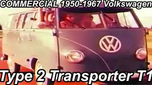 comercial volkswagen type 2 transporter t1 1950 1967 youtube
