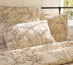 Pottery Barn Comforters Vikingwaterford Com Page 76 Bedroom With Cool Golden Reddish