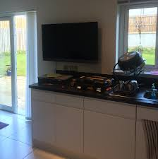 mounting a tv on the wall glasgow handyman services tv wall mounting service