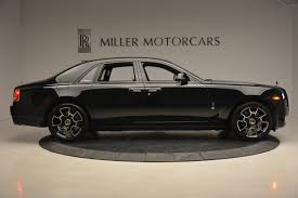roll royce ghost all black 2017 rolls royce ghost black badge stock ux54262 for sale near