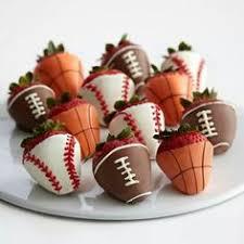 White Chocolate Covered Strawberries Kids Strawberry Footballs Recipe Football Season Crafts For Kids
