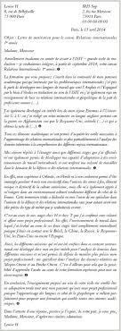 Lettre De Motivation Stage Journalisme 28 Images Lettre Réussir Sa Candidature Pour Le Cursus Relations Internationales De L
