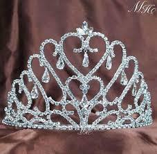 handmade tiaras hearts handmade tiaras hair combs bridal rhinestones crowns