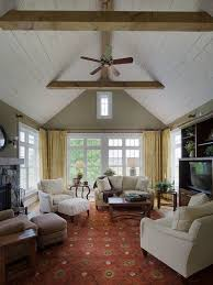 Cathedral Ceilings In Living Room Cathedral Ceiling Living Room Ideas Photos Houzz