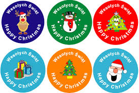 christmas stickers christmas stickers linguist
