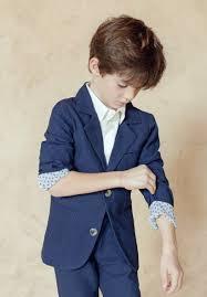 costume bleu marine mariage veste de costume garçon et bébé bleu marine pour mariage